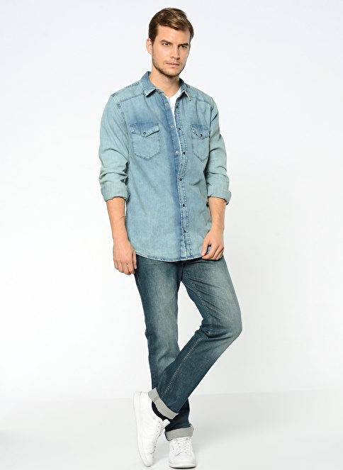 Lee Cooper Jean Pantolon | Harry - Straight Mavi